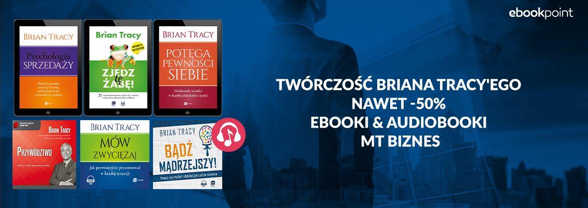Promocja na ebooki BRIAN TRACY [do -50%]